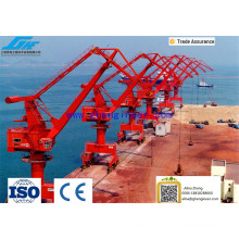15 ans Portal Crane Fabricant Marine Harbor Application Portal Crane Pedestal Crane Container Crane à prix abordable