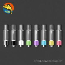 California trending all glass cbd vape cartridge AG03 full ceramic coil empty 1ml oil vaporizer cartridge