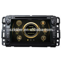 Live view wince system radio del coche para Buick Enclave / Chevrolet Tahoe con GPS / Bluetooth / Radio / SWC / Virtual 6CD / 3G internet / ATV / iPod