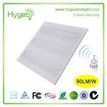 energy saving blue led office lighting 2*2 led grille panel light