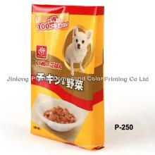 Пластиковая упаковка для пищевых продуктов для собак