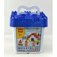 86PCS Schnee-Hauptgebäude-Eimer-Kind-Spielzeug
