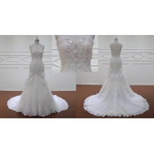 Bling Appliques Wedding Dress Bridal Dress