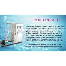 SUS 304 máquina de esterilização de ozônio / ozônio máquina de lavar / ozônio frutas e esterilizador vegetal