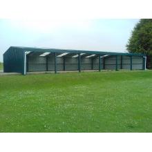 Economic easy build steel structure car garage for parking