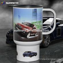 White Blank Sublimation Car Mug fabricant