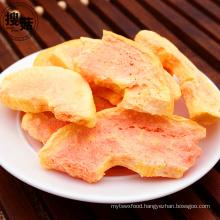 Kosher Certificated Fresh Freeze Dried Papaya Chips Snacks