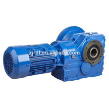 s series helical worm gear reducer
