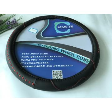 redline massaging pu steering wheel covers
