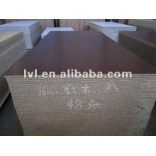 E1 glue rosewood melamine particle board 1220*2440mm