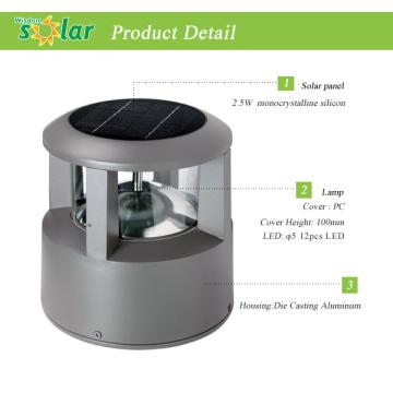 LED solar lamp post lights, led solar light for fence post, solar fence lighting for garden landscape lighting