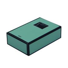 Mint green  color perfume boxes wholesale