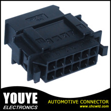 12p 3.5mm Black Female ISO9001 Ts16949 Car Wire Connector in Stock