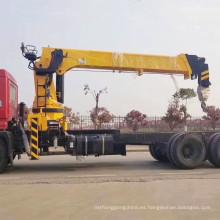 China A ESTRENAR 14 toneladas de grúa de camión con pluma telescópica hidráulica para la venta
