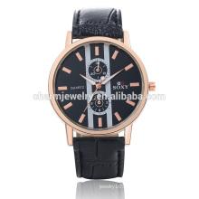Специально разработанные роскошные Vogue Quartz Популярные наручные часы из кожи SOXY047