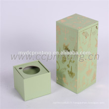 Emballage de boîte de paquet de parfum de bouteilles de carton pour le cosmétique
