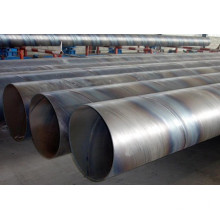 Empilage SSAW Steel Pipe pour Marine