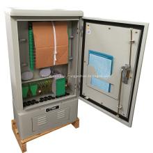 Gabinetes de conexão cruzada de fibra óptica de aço inoxidável OCC