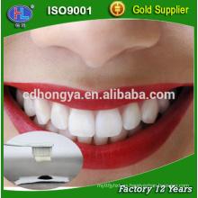 Blanqueamiento de dientes tipo en el hogar profesional kit de blanqueamiento dental con polvo de carbón activado