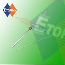 Condensador cerámico multicapa Axial Tmcc04 de Topmay 20 - 250V