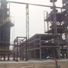 Distillation fractionnée industrielle de l'huile de moteur usée