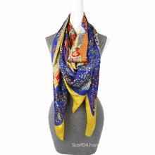 Fashion Printing chiffon fashionable scarf Square Scarf