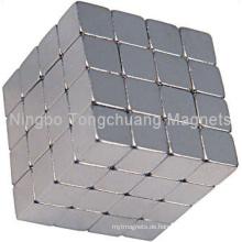 Würfelmagnete mit Ni-Beschichtung