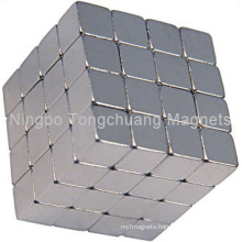 Cube Magnets with Ni Plating