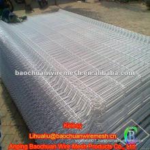 White PVC Coated Fence Panel