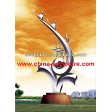 2016 New Modern Chinese Custom Stainless Steel Sculpture China Supplier