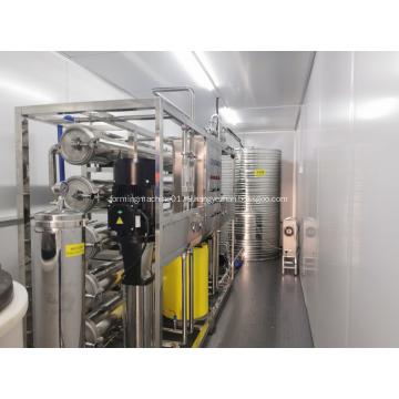 Контейнерная установка водоочистных сооружений с чистой комнатой GMP