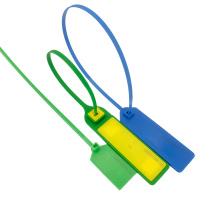 Etiqueta de brida de sello de cable de plástico NFC UHF
