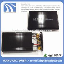 Alliage d'aluminium USB 2.0 SATA et IDE Combo 3.5inch Disque dur externe / HDD Enclosure