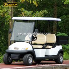 Preço elétrico do carrinho de golfe do assento de EXCAR 4 com o buggy de golfe elétrico do carro do golfe da carga