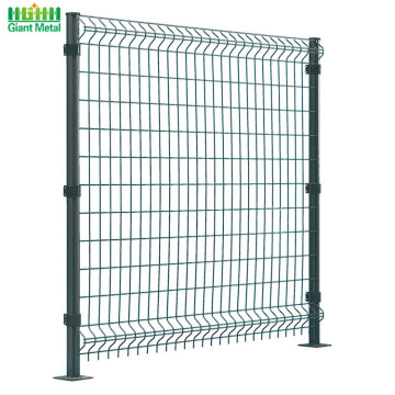 Metal Decorative Single 3D Curved Wire Mesh Pagar