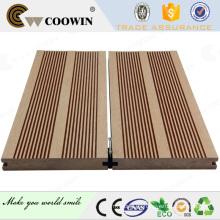 De alta calidad WPC venta al aire libre tablas de decking baratos
