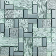Handmade Crystal Glass Mosaic in Foshan (AJ2A214)