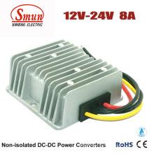 Intensifique a tensão 12V CC ao conversor de poder da CC 8A 24V