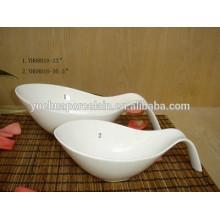 Tigela de salada de porcelana multa durável definido para hotel