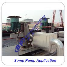 Application de pompe de puisard