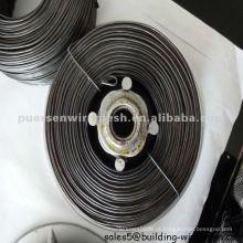 Fio de ferro recozido preto em bobina pequena