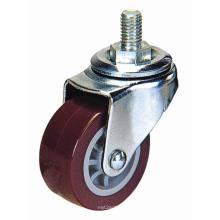 Tige filetée légère PU Roulette (rouge)