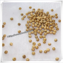 Small Size Round Natural Wood Bead with 2mm Hole (IO-wa015)