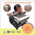 Automatic Cardboard Carton Corrugated Box Making Machine