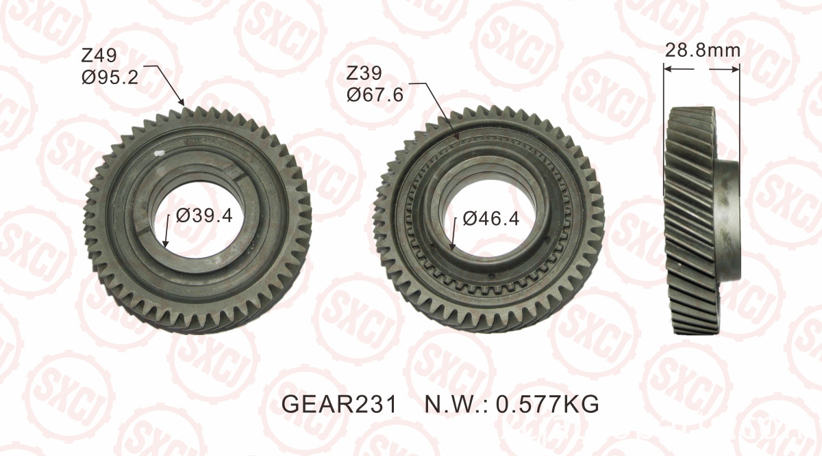 Auto Car Flywheel For Main Shaft