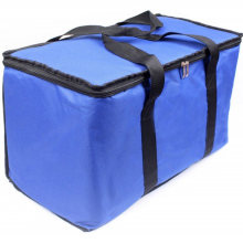 Gots Oekotex 100 Eco-Friendly Long Nylon/Polyester Handle Cmyk Printing Cheap Promotional Shopping Ultrasonic Cooler Bag with Lamination