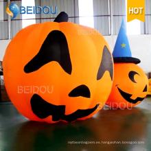 Inflable gato Espíritu Espíritu Decoraciones de la casa Inflables calabaza de Halloween