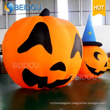 Inflatable Cat Spirit Ghost House Decorations Inflatable Halloween Pumpkin