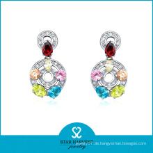 2014 Neuer eleganter Art- und Weisesilberner Ohrring für Damen (SH-E0155)