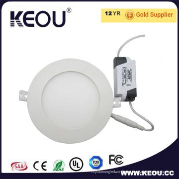AC85-265V SMD2835 marco blanco LED luz panel Ce RoHS